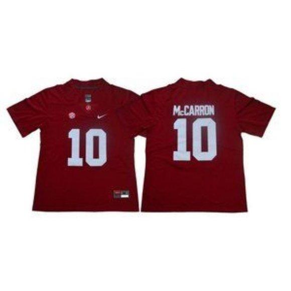 A.J McCarron Alabama Crimson Tide Football Jersey Red